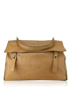 Bolsa Yves Saint Laurent Muse Two Caramelo