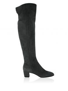 Bota Gianvito Rossi Over the Knee Gamoscio