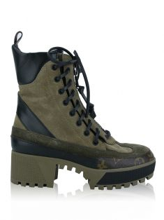 Bota Louis Vuitton Laureate Verde