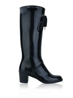 Bota Marc by Marc Jacobs Galocha Preto