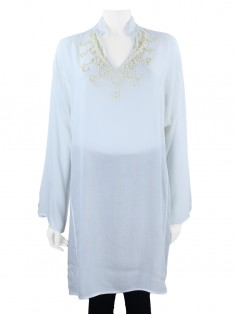 Blusa Daslu Tunica Off White