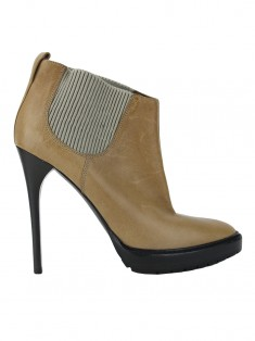 Bota Burberry Ankle Boot Marrom