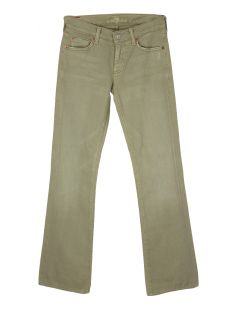 Calça Seven For All Mankind Bootcut Bege