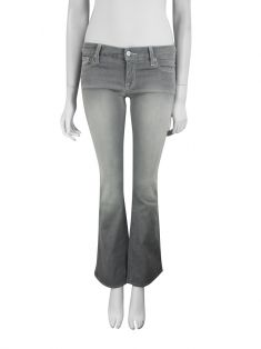 Calça Seven For All Mankind Lexie 'A' Pocket Cinza