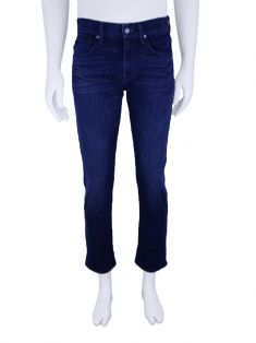 Calça Seven For All Mankind Luxe Performance The Straight Azul Masculina