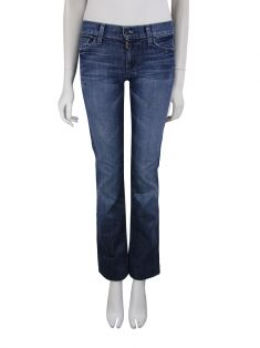 Calça Seven For All Mankind Straight Leg Jeans