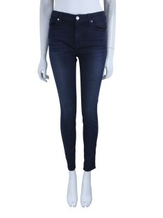 Calça Seven For All Mankind The Mid Rise Ankle Skinny Azul