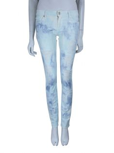 Calça Seven For All Mankind Tie Dye Destroyed