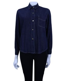 Camisa A. Brand Jeans Escuro