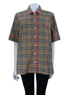 Camisa Burberry Auklet Check