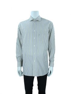 Camisa Façonnable Classique Listras Masculina