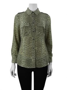 Camisa Michael Kors Animal Print