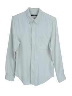 Camisa Seven For All Mankind Tecido Bege Masculina