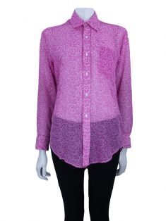 Camisa Tracyfeith Floral Rosa
