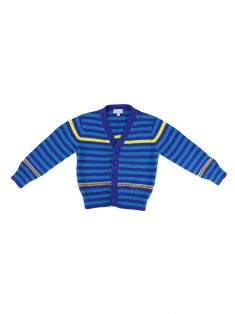 Cardigã Paul Smith Baby Listrado Infantil