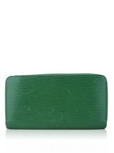 Careira Louis Vuitton Zippy Wallet Epi Verde