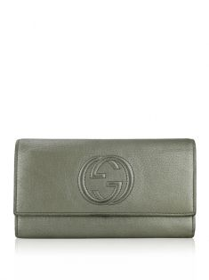 Carteira Gucci Soho Continental Champagne