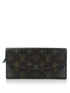 Carteira Louis Vuitton Emilie Monograma