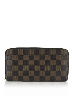 Carteira Louis Vuitton Zippy Damier Ebene