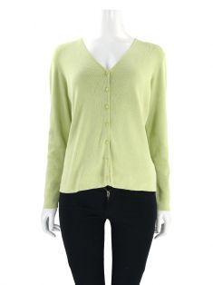 Casaco Ann Taylor Tricot Verde Abacate