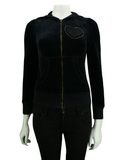 Casaco Juicy Couture Veludo Preto