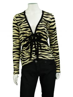 Casaco Moschino Cheap and Chic Zebra