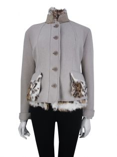 Casaco Scervino Street Animal Print