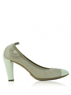 Sapato Chanel Stretch Bicolor