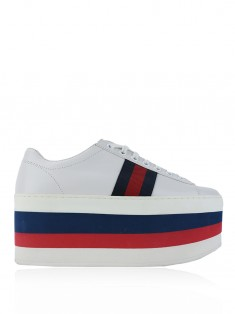 Tênis Gucci Peggy Stripes