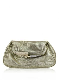 Clutch Fendi Boderline Dourada