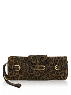 Clutch Jimmy Choo Tulita Leopardo