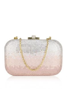 Clutch Judith Leiber Couture Crystal Slide-Lock