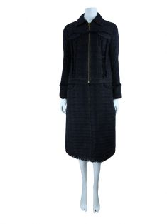 Conjunto Tory Burch Tweed Azul