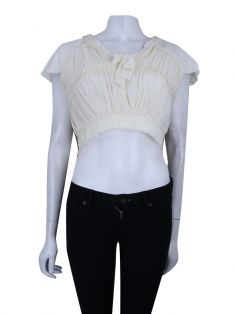 Cropped NK Store Seda Off White