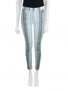 Calça Seven For All Mankind Gwenevere Animal Print
