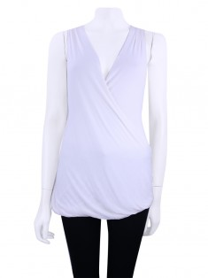 Blusa Animale Renda Branca