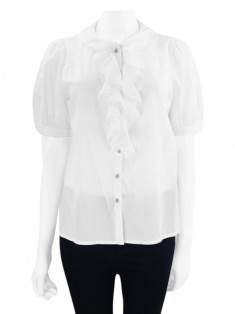 Camisa Marc By Marc Jacobs Babado Branco