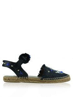 Espadrille Dolce & Gabbana Nautical Raffia Bordada