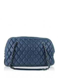 Bolsa Chanel New Bubble Bowler Azul