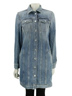 Jaqueta Seven For All Mankind Jeans Claro