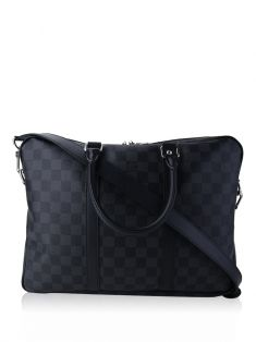 Pasta Louis Vuitton Damier Graphite PM