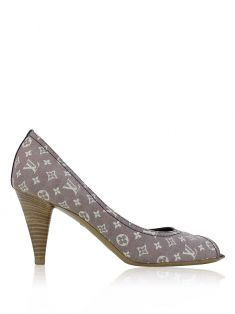 Peep toe Louis Vuitton Mini Lin