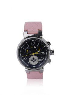 Relógio Louis Vuitton Tambour Lovely Cup Rosa