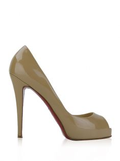 Sapato Christian Louboutin New Very Prive Nude