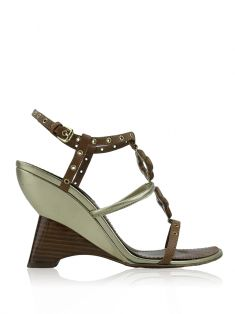 Sandália Louis Vuitton Andalucia Wood Wedge