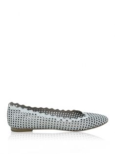 Sapatilha Chloé Lauren Perforated Branca