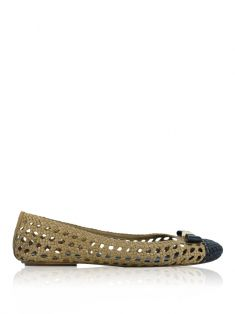 Sapatilha Tory Burch Carlyle Bicolor