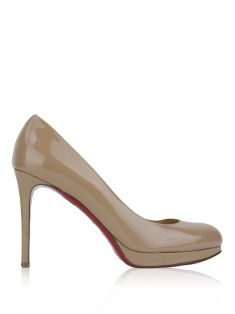 Sapato Christian Louboutin New Simple Pumps Nude