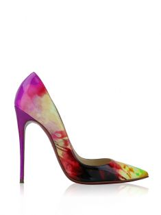 Sapato Christian Louboutin So Kate 120 Tie Dye