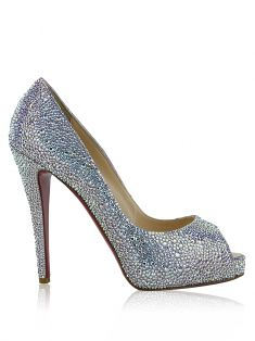 Sapato Christian Louboutin Very Riche 120mm